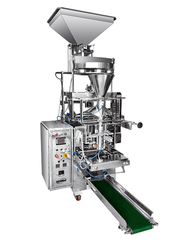Cup Filler Fully Pneumatic Pouch Packing Machine (Collar Type)