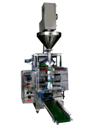 Auger Filler Fully Pneumatic Pouch Packing Machine (Collar Type)(For Powder)