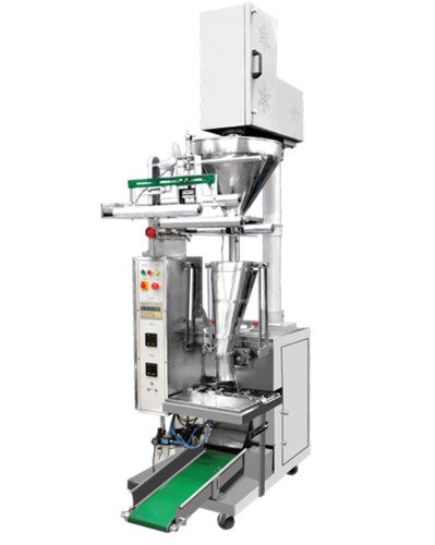 Auger Filler Half Pneumatic Pouch Packing Machine (For Powder)