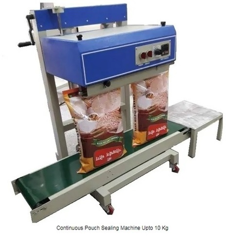 Continuous Pouch Sealing Machine Upto 10Kg