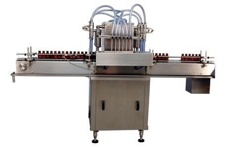 Fully Automatic Motorised Piston Based Liquid Filling Machine