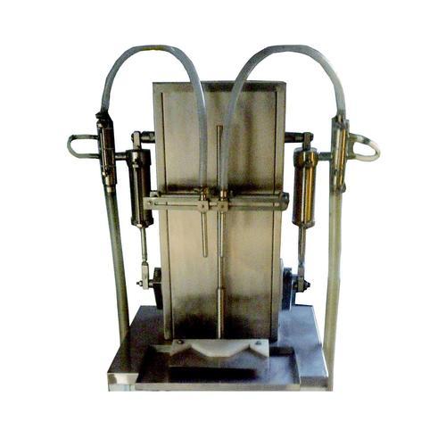 Semi Automatic Motorised Piston Based Liquid Filling Machine