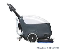 Industrial scrubber dryer