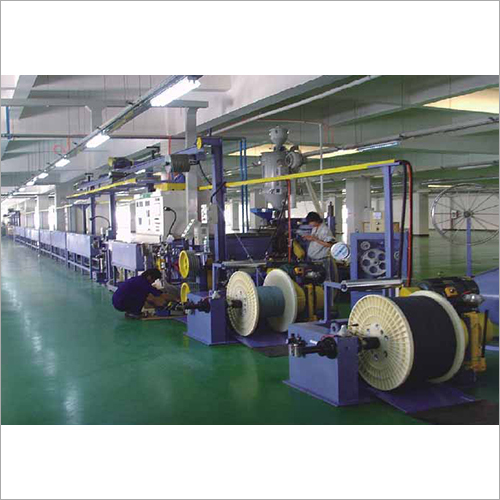 380V Extrusion Line For Silicon Cable