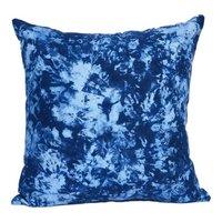 Blue Colour Printed Cushion