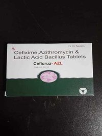 Cefixime + Azithromycin with LB
