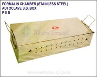 Formalin Chamber S.S. Autoclave S.S. Box