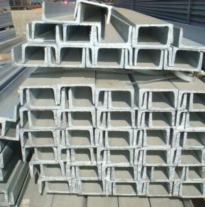 Steel Channel U Shape and C Shape U Channel/ UPN 80/100 Steel Profile