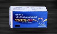 Ramipril 2.5 mg &  Hydrochlorothiazide 12.5 mg