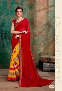 Golden Jhumke -18 Saree Catalog