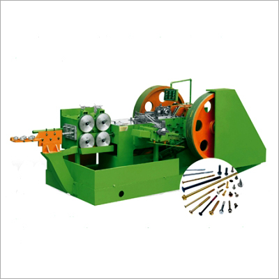 One Die And Two Blow High Speed Auto Heading Machine