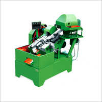 Roller Type Threading Machine With Gear Exposed