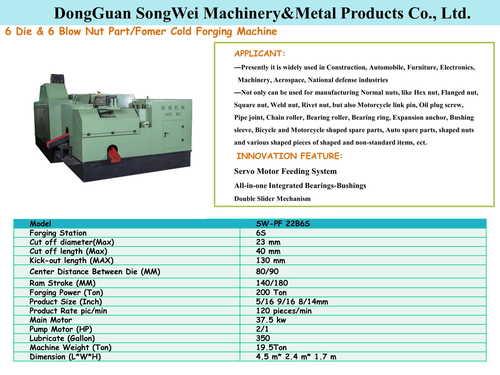 Forging machines 22B6S