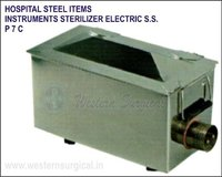 Hospital Steel Items - Instrument Sterilizer Electric S.S.
