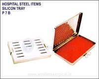 Hospital Steel Items - Silicon Tray