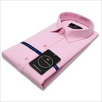 Pink  Cotton formal shirt
