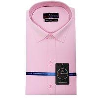Pink  Cotton formal shirt