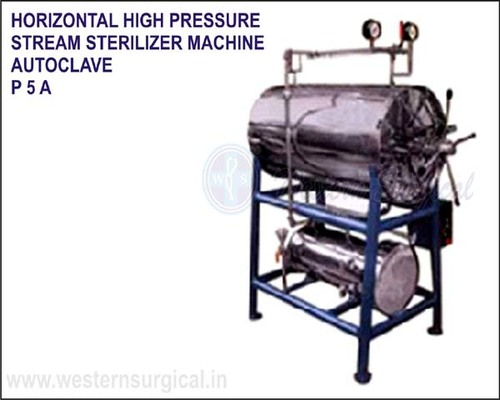 Horizontal High Pressure Steam Sterilizer Machine Autoclave