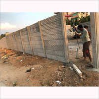 Concrete Wall Compound