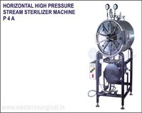 Horizontal High Pressure Steam Sterilizer Machine