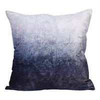 grey and white colour cushion