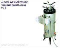 Autoclave Hi-Pressure Triple Wall Radial Locking