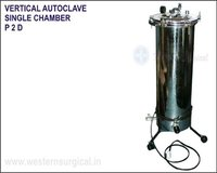 Vertical Autoclave Single Chamber