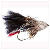 Muddler Marabou Black Flies