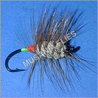 Green Orange Butt Mini Bomber Salmon Flies