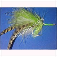 Bait Fish Tarpon Chartreuse Salt Water Flies
