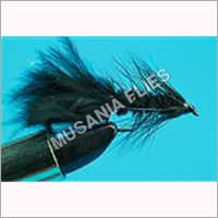 Wooly Bugger Black Streamer Flies