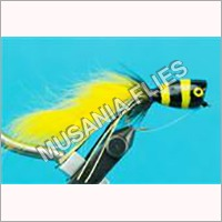 Bumble Bee Popper Flies