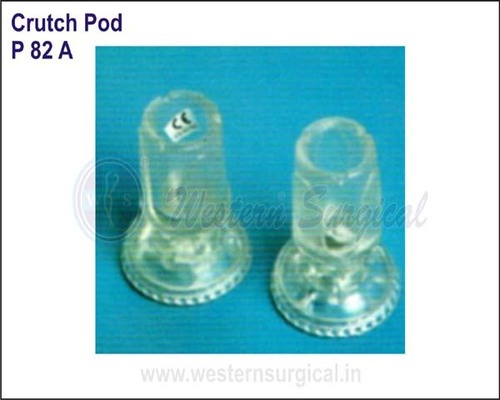 Crutch Pod (Goose Neck- 22mm / 15mm)