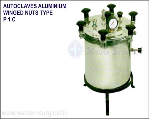Autoclaves Aluminium Winged Nuts Type