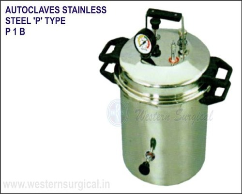 Autoclaves Stainless Steel 'P' Type