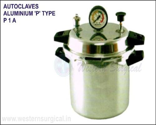 Autoclaves Aluminium 'P' Type