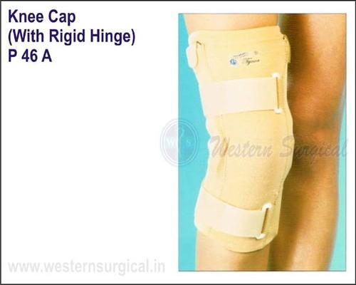 Knee cap (with rigid hinge)