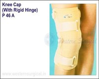 Knee cap (with rigid hinge)