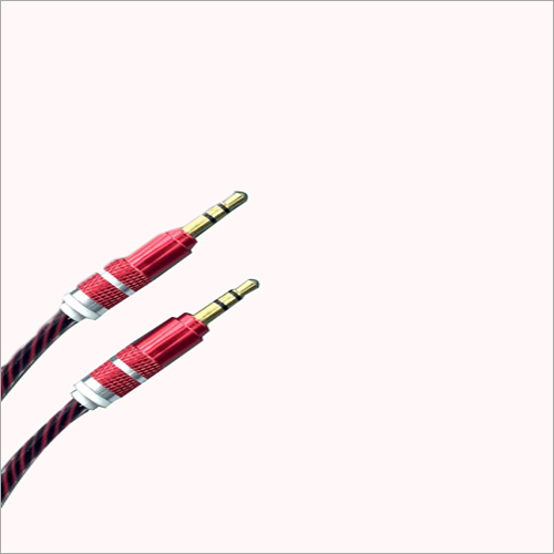 Nylon Metal Aux Cable