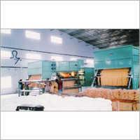 Conveyor Type Continuous Hank Yarn Pole Dryer Machine