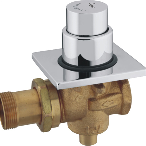 Square Push Flush Valve