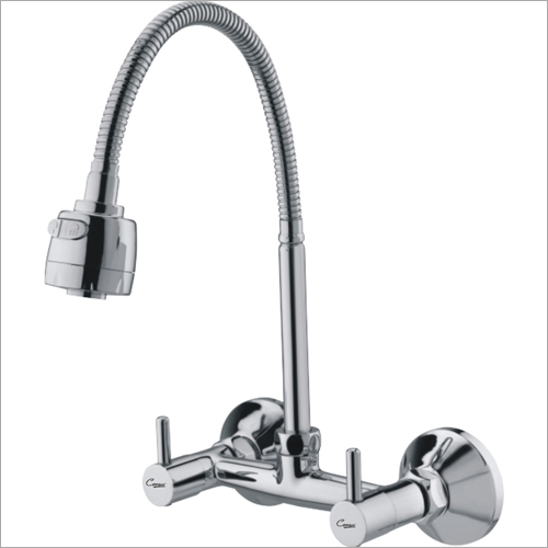 Sink Mixer Wall Mounted With Dual Flow