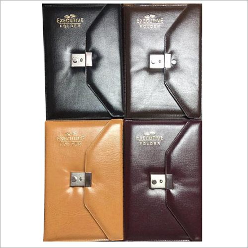 5 Subject Note Book With Executive Lock Folder