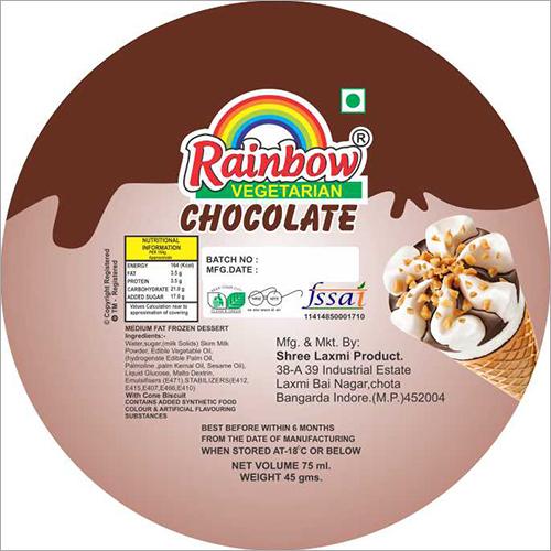 Ice Cream Chocolate flavored