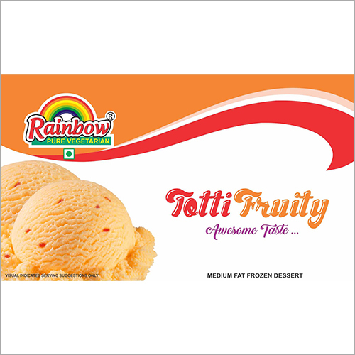 Totti Fruity Ice Cream