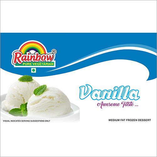 Vanilla Flavoured Ice Cream