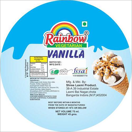 Vanila Ice Cream Cone