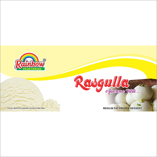 Rasgulla Flavoured Ice Cream