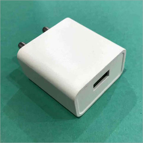 1 Amp White Single USB Mobile Charger