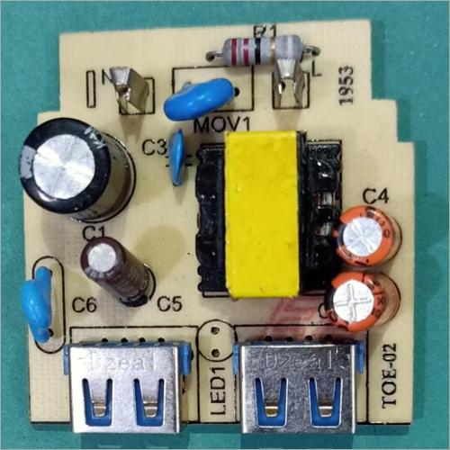 2.4 Amp 2USB Charger PCB